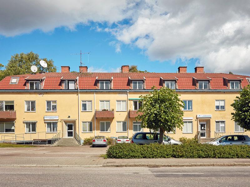 Södra vägen 9, Ågatan 1