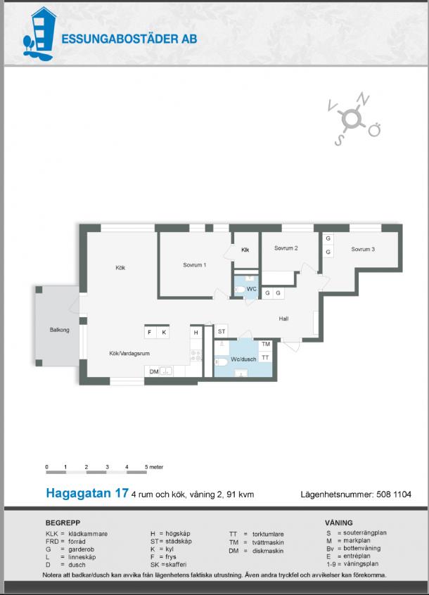 Hagagatan 17 (508)