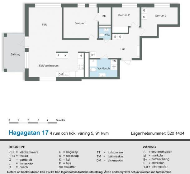 Hagagatan 17 (520)
