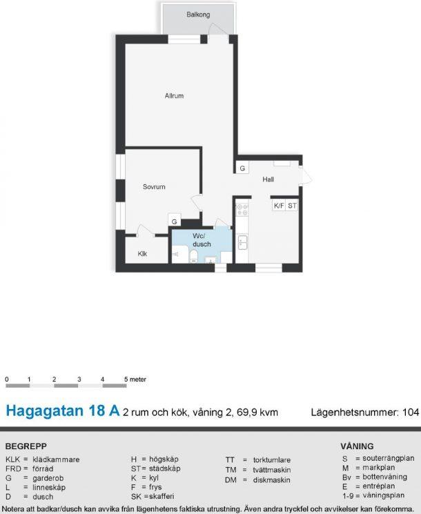 Hagagatan 18 A (104)