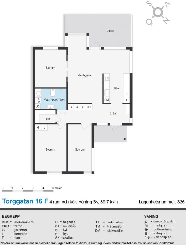Torggatan 16 F (326)