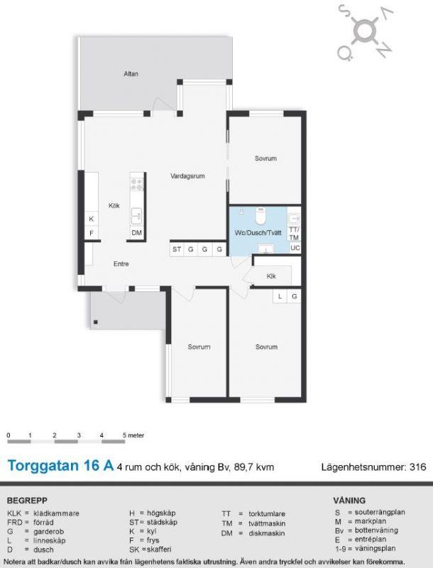 Torggatan 16 A (316)